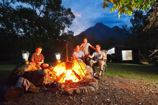 mt barney lodge camping reviews