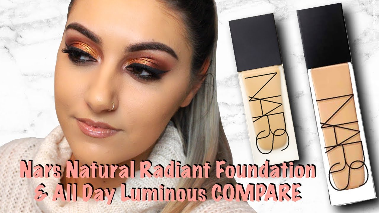 nars all day luminous foundation review