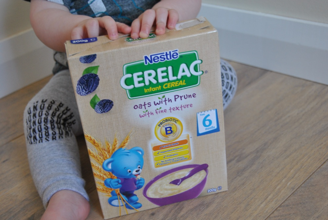 nestle cerelac oats with prunes review