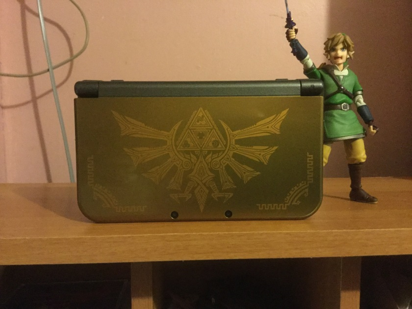 new 3ds xl hyrule edition review