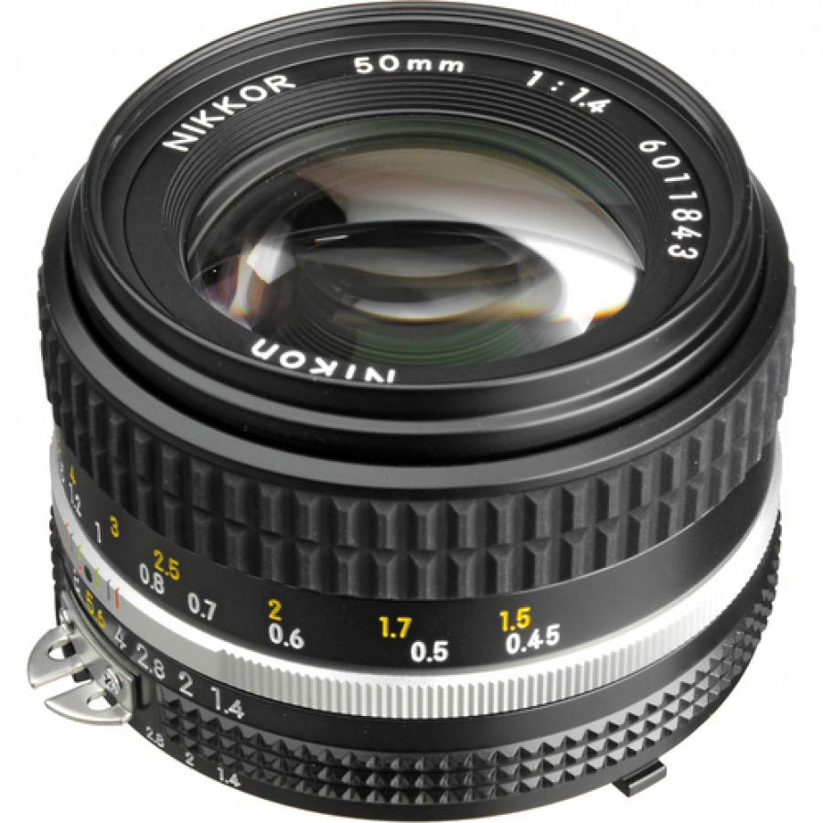 nikkor 50mm 1.4 non ai review