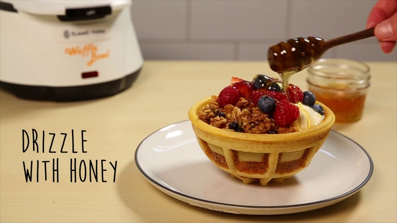 russell hobbs waffle bowl review