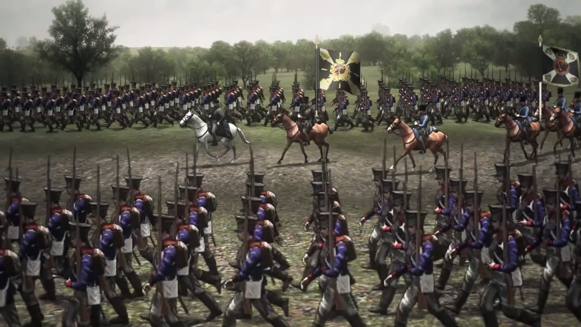 scourge of war waterloo review