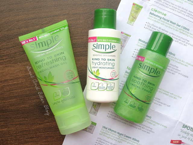 simple facial wash gel review