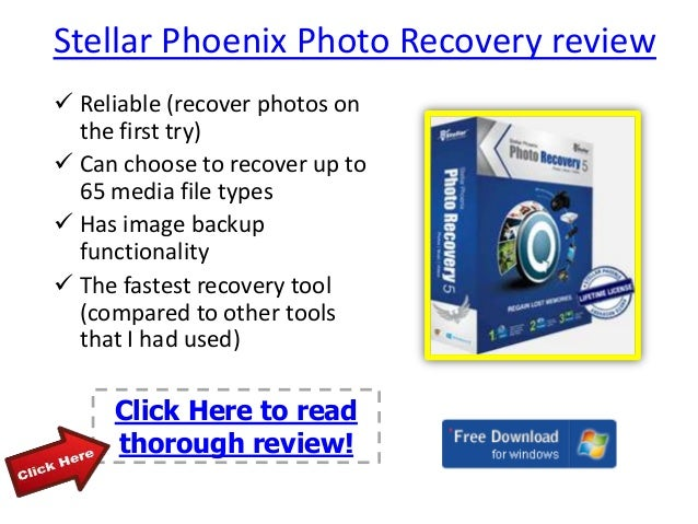 stellar phoenix photo recovery review