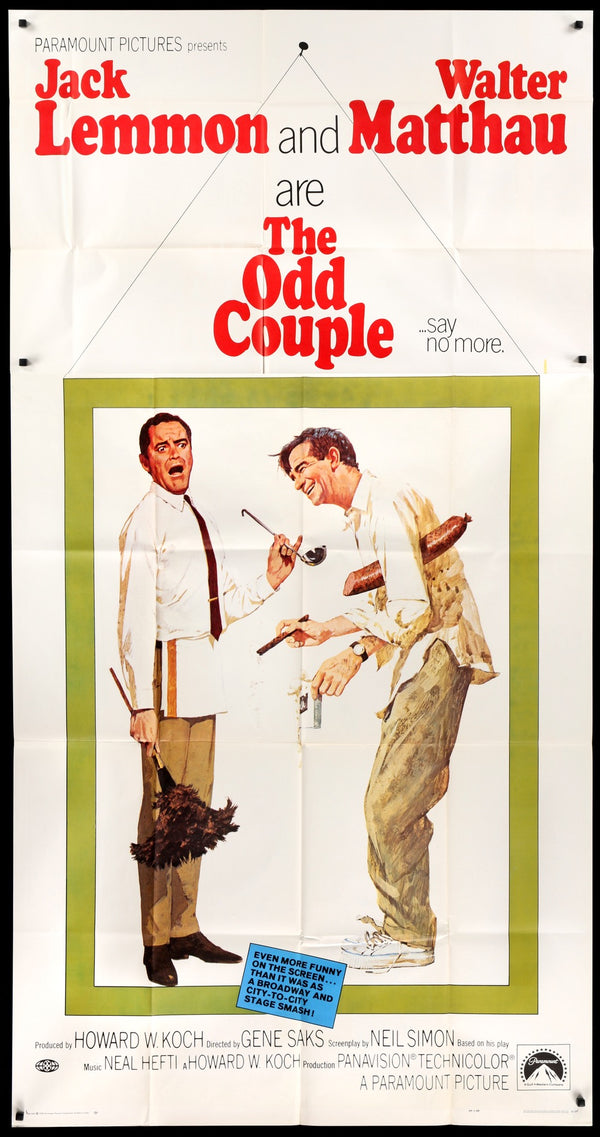 the odd couple movie review