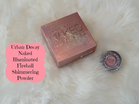 urban decay illuminated powder review