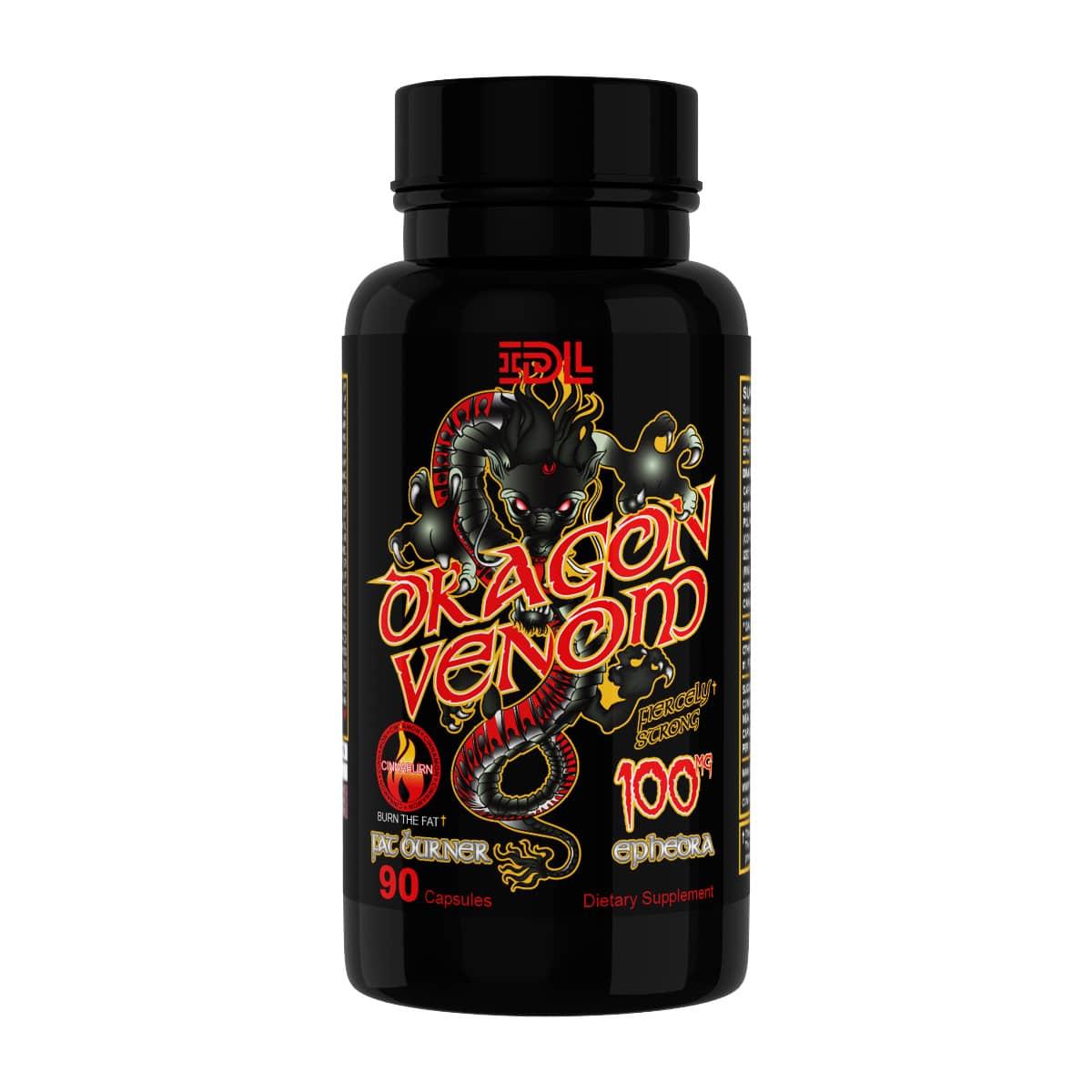 venom fat burner capsules review