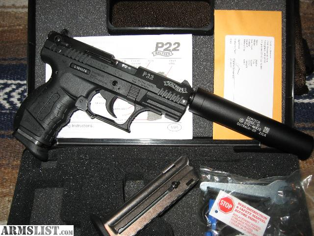 walther p22 5 inch barrel review
